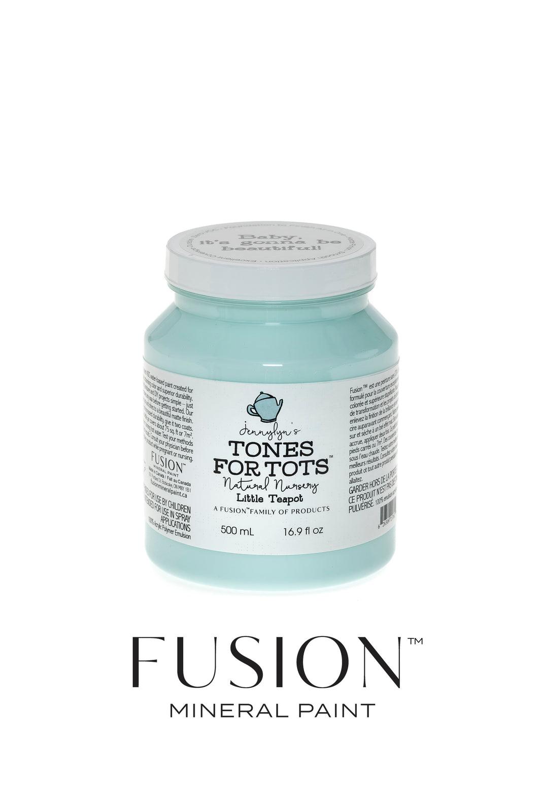Fusion Mineral Paint Tones for Tots - Little Teapot