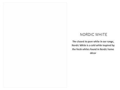 Milk Paint - Nordic White