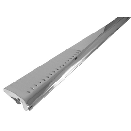 Stainless Steel Running Boards, Louvered, Pair Running Boards Empi # 00-6820-0