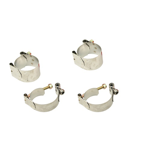 S/S Clamps Only, Link Pin/Ball Joint, Type 1, Set of 4 Suspension & Steering Empi # 00-9692-0