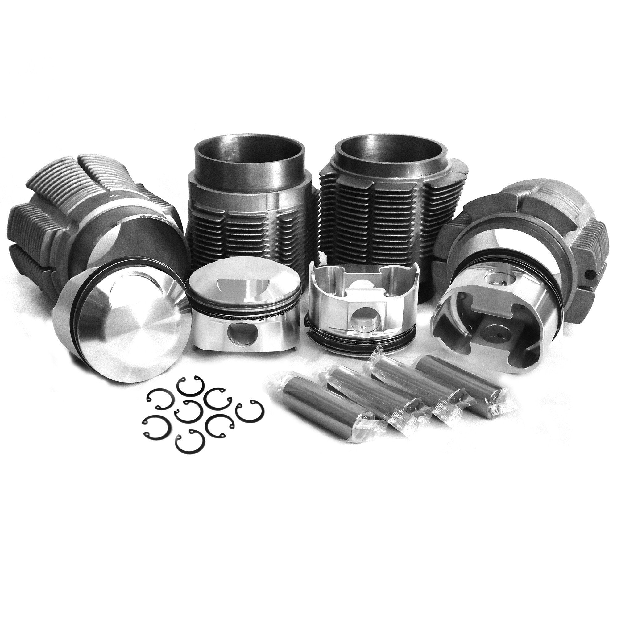 From 356 400: 83.5mm Porsche 356/912 Big Bore Kit W/ Biral Cylinders