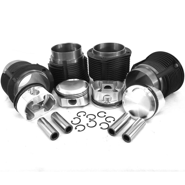 Porsche 356A & B  big bore kit, 86mm JE forged piston 9.5:1-2618 Forged, 356a-b, biral
