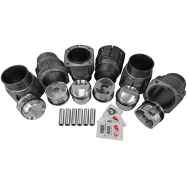 81mm Porsche 911 JE Forged Piston & Cylinder Kit-2618 Forged, 911, AA and JE, biral