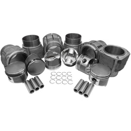 84mm Porsche 911 Low Comp, Piston & Cylinder Kit-911, AA Performance Products, biral, Hypereutectic