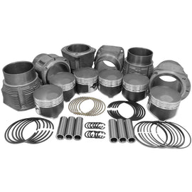 86mm Porsche 911 Piston & Cylinder Kit 2.2 & 2.4-911, AA Performance Products, biral, Hypereutectic