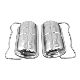 Chrome Valve Cover Set-chrome