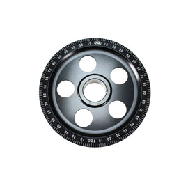 Black Anodized Degree Wheel Pully, With AA Logo-Type-1, Type-2