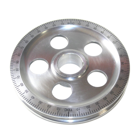 Polished Degree Wheel Pulley, with Holes-Type-1, Type-2