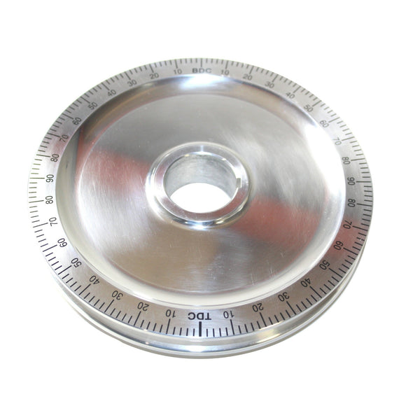 Polished Degree Wheel Pulley, No Holes-Type-1, Type-2