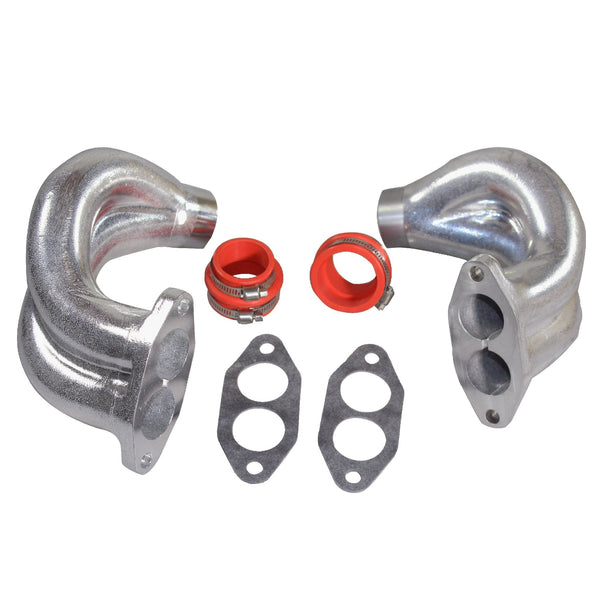 Dual Port End Castings with clamps and boots, PAIR-AA Performance Products, new-arrivals