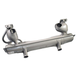 40 HP Muffler W/Fresh Air HRT (Beetle & Karmann Ghia 63-65):111 251 051HStock Systems|LJ Air-Cooled Engines