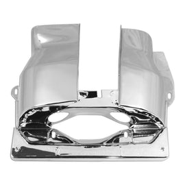 Chrome Cylinder Head Cover Dual Port 1-2 Side-Chrome
