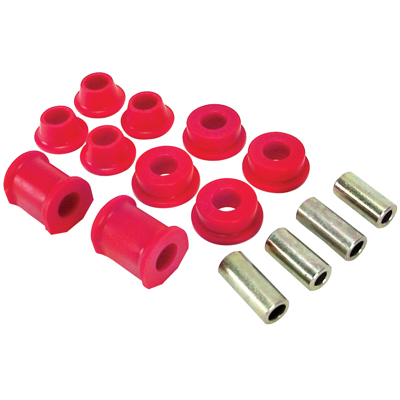 Urethane Control Arm Bushing Kit - S/B 74-79, w/ grease (15-Piece Kit) Suspension & Steering Empi # 16-5108-0