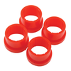 Urethane Axle Beam Bushing Kit, Outer, for King & Link Pin w/Bearings, 4 pcs., All the Same Suspension & Steering Empi # 16-5137-0