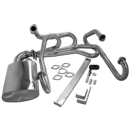 "Complete 1 1/2"" Stainless Steel Sidewinder Style Exhaust-AA Performance Products, sale, Stainless, Type-1"