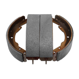 Rear Brake Shoes, Bus '64-'70, Semi-metallic, Set of 4 - AA Performance Products
