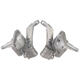 "2 1/2"" Dropped Spindles Link Pin Drum Brakes Pair-AA Performance Products, Code-1, , new-arrivals"