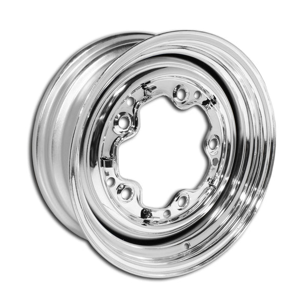 "5 Lug Rim Chrome Smoothie 5/205 4.5"" Wide"