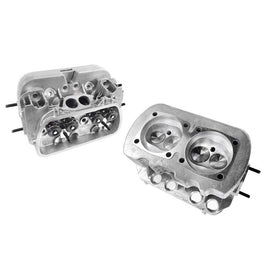 "VW 1600 Dual Port Cylinder Heads, Stainless Steel Valves 35.5X32  ""Pair""-500, AA Performance Products, CC HEADS, Performance, Stock, Type-1"