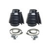 Deluxe Swing Axle Boot, Black, Pair Suspension & Steering Empi # 00-9984-0