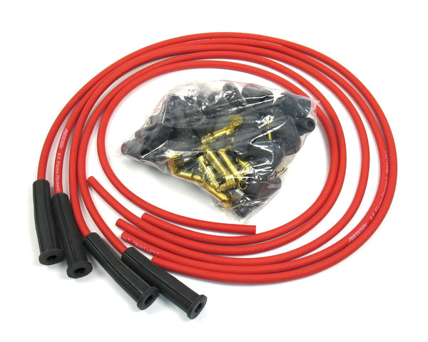 Pertronix Flame-Thrower 8mm Red Spark Plug Wires-new-arrivals, Pertronix