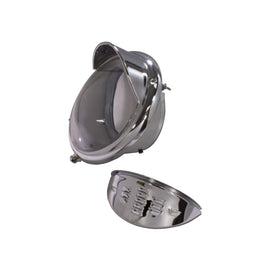 "Chrome Late Model VW Headlight Eyebrow ""Each"" - AA Performance Products  - 2"