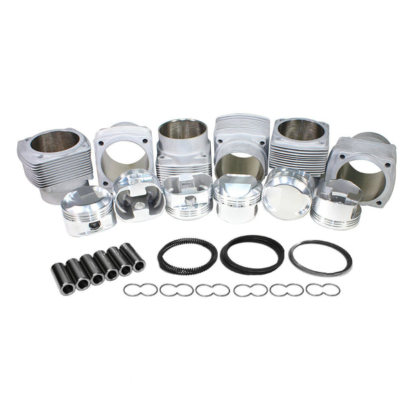 95mm, Porsche 911 JE Piston & Cylinder Kit 3.0L 10.5:1-2618 Forged, 911, AA and JE,