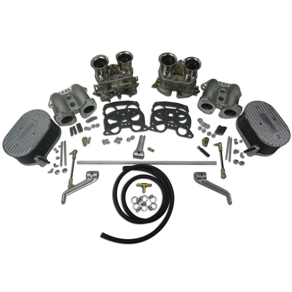 Type 4 Dual IDF Carburetor kit W/ CB Manifolds & Linkage-Type-4-914