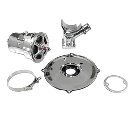 Standard Chrome VW (60 or 75) AMP Alternator Conversion Kit for Type 1 and 2