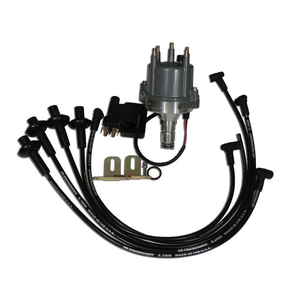 2000 MagnaSpark II Kit, with Distributor, Wires, & Coil (TYPE 1 & 2)-Type-1