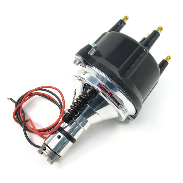 Pertronix Flame-Thrower Billet Distributor, w/Black Cap and Ignitor Electronic Ignition-new-arrivals, Pertronix