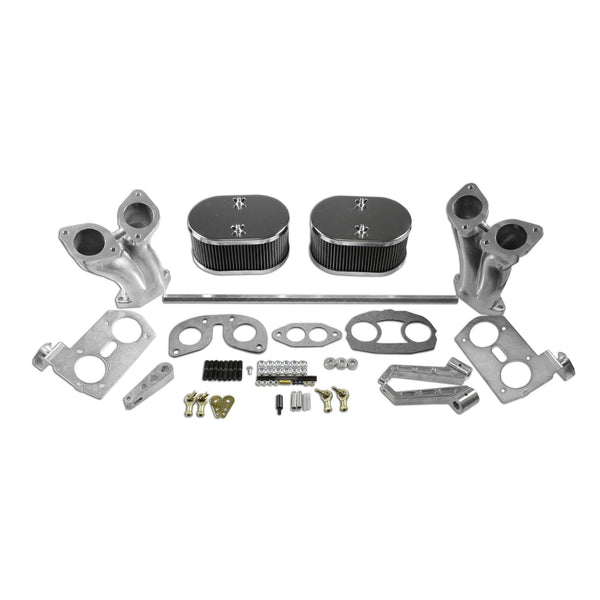 Type 1 (IDF Style) Linkage Kit W/ Air Cleaners and Offset Manifold