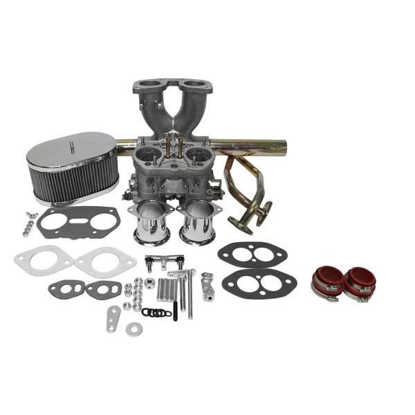 Dual Port Single Carburetor Kit