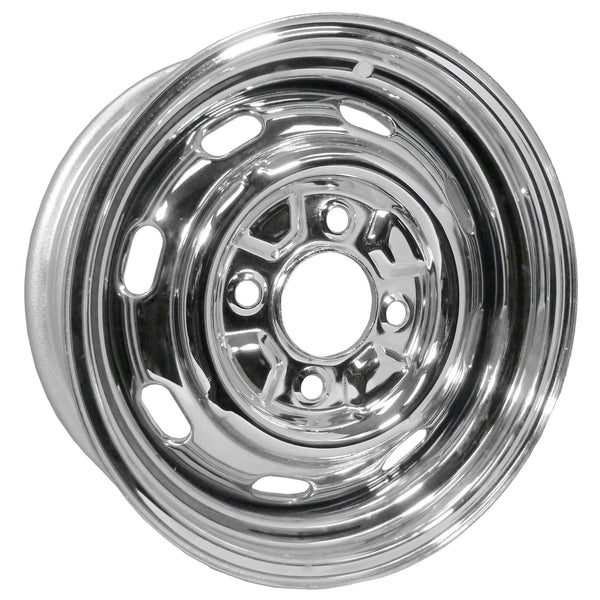 "4 Lug Rim Chrome with Slots 4/130 5.5"" Wide-4-x-130"