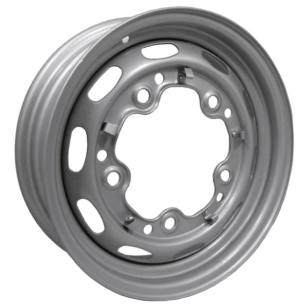 "5 Lug Rim Silver with Slots 5/205 5.5"" Wide-5, 5-x-205"