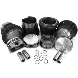 VW 103mm Porsche 914/Type 4 Bus Piston & Cylinder Kit-AA Performance Products, Cast Iron, Hypereutectic, Type-4-914