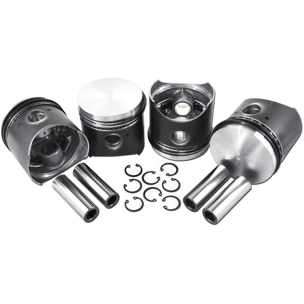 VW 77MM Type 1 Piston Set 36HP-AA Performance Products, Hypereutectic, Type-1