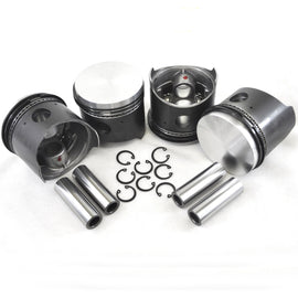 VW 77MM Type 1 Piston Set 40HP-AA Performance Products, Hypereutectic, Type-1