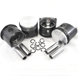 VW 83MM Type 1 Piston Set 40HP Big Bore-AA Performance Products, Hypereutectic, Type-1