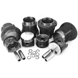 VW 87 x 69mm 1641cc Piston & Cylinder Kit:VW8700T1VW Piston And Liner Kits|LJ Air-Cooled Engines