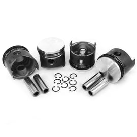 VW 87MM Type 1 Piston Set 1641cc-AA Performance Products, Hypereutectic, Type-1