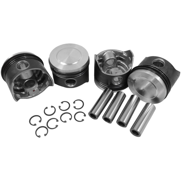 90x66 mm Dome Top Piston Set - AA Performance Products