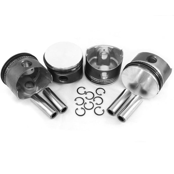 VW 90.5MM Type 1 Piston Set 1776cc-AA Performance Products, Hypereutectic, Type-1