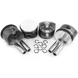 VW 92MM Type 1 Piston Set 1835cc-AA Performance Products, Hypereutectic, Type-1