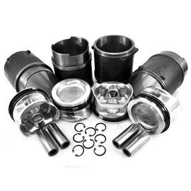 94mm 1900cc Water Cooled Piston & Cylinder Kit-AA Performance Products, Cast Iron, Hypereutectic, WaterBoxer