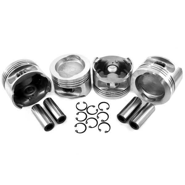 VW 95.5mm WaterBoxer 1.9 Big Bore Piston Set-AA Performance Products, Hypereutectic, WaterBoxer