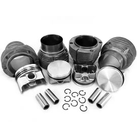 96mm 1.7/1.8L Porsche 914/ VW Type 4 Bus Piston and Biral Cylinder Set-AA Performance Products, biral, Hypereutectic, Type-4-914