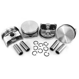 96x66mm Flat top Piston Set-AA Performance Products, Hypereutectic, Type-4-914
