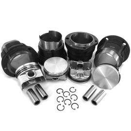 96mm 1.7/1.8L Porsche 914 / VW Type 4 Bus Piston & Cylinder Kit-AA Performance Products, Cast Iron, Hypereutectic, Type-4-914