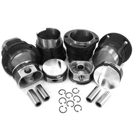 96mm 2.0L Porsche 914/ VW Type 4 Bus Piston & Cylinder Kit-AA Performance Products, Cast Iron, Hypereutectic, Type-4-914